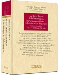 Tecnologias De La Informacion Y La Comunicacion En La Administracion - Eduardo  Gamero Casado  /  Valero Torrijos