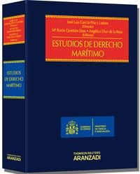 Estudios De Derecho Maritimo - Jose Luis  Garcia Pita  /  Maria Rocio  Quintas Eiras