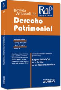 Responsabilidad Civil En El Ambito De Las Relaciones Familiares - Jose Ramon Berda Y Beamonto