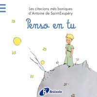 Penso En Tu - Antoine De  Saint-exupery