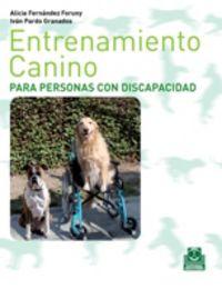 ENTRENAMIENTO CANINO PARA PERSONAS CON DISCAPACIDAD (BICOLOR)