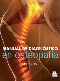 Manual De Diagnostico En Osteopatia - Magga Corts