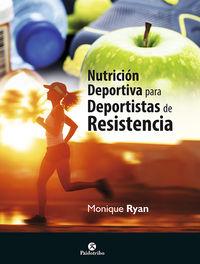 nutricion deportiva para deportistas de resistencia - Monique Ryan