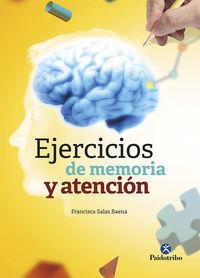 Ejercicios De Memoria Y Atencion - Francisca Salas Baena