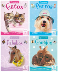 (surtido)  Juega Con Tu Mascota - Gatos / Conejos / Perros / Caballos - Aa. Vv.