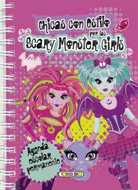 Agenda Permanente Rosa - Chicas Con Estilo - Scary Monster Girls - Aa. Vv.
