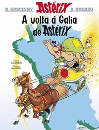 Asterix - A Volta A Galia De Asterix - Rene Goscinny