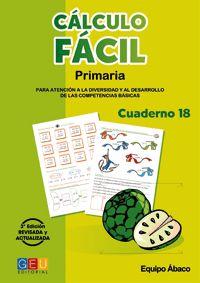 CALCULO FACIL 18