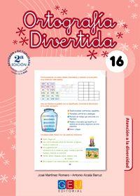 ORTOGRAFIA DIVERTIDA 16 (2ª ED. )