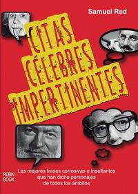 Citas Celebres Impertinentes - Samuel Red