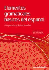 Elementos Gramaticales Basicos Del Español - Mercedes Barrera Roset