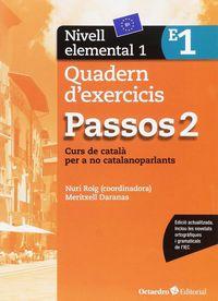 PASSOS 2 ELEMENTAL QUAD 1 - CURS DE CATALA PER A ADULTS