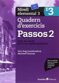 PASSOS 2 ELEMENTAL QUAD 3 - CURS DE CATALA PER A ADULTS