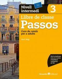 PASSOS 3 INTERMEDI - CURS DE CATALA PER A ADULTS