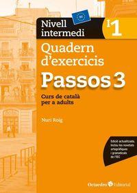 PASSOS 3 INTERMEDI QUAD 1 - CURS DE CATALA PER A ADULTS