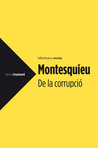 DE LA CORRUPCIO