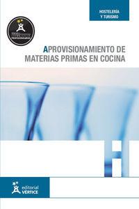APROVISIONAMIENTO DE MATERIAS PRIMAS EN COCINA