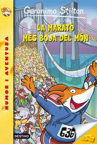 La marato mes boja del mon - Geronimo Stilton