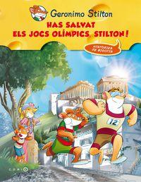 Has Salvat Les Olimpiades, Stilton! - Geronimo  Stilton