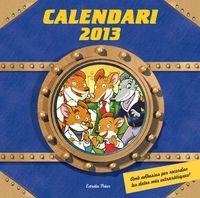 Viatge En El Temps - Calendari Geronimo Stilton 2013 - Geronimo  Stilton