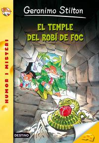 El  el temple del robi de foc  -  Serie Groga - Geronimo  Stilton