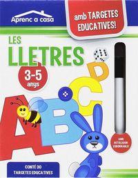 LLETRES, LES (AMB TARGETES EDUCATIVES! + RETOLADOR)