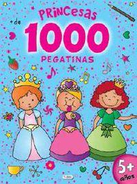 Princesas - 1000 Pegatinas - Aa. Vv.