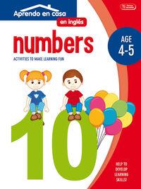 NUMBERS - APRENDO EN CASA INGLES (4-5 AÑOS)