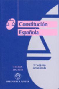 CONSTITUCION ESPAÑOLA, LA (5ª ED)