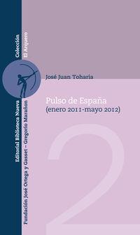 Pulso De España 2012 - Jose Juan Toharia