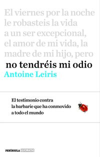 No Tendreis Mi Odio - Antoine Leiris
