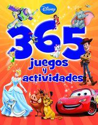 Disney - 365 Juegos Y Actividades - Aa. Vv.