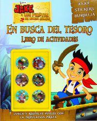 Jake Y Los Piratas - En Busca Del Tesoro - Libro De Actividades Con Adhesivos Especiales - Aa. Vv.