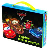 Cars 2 - Espias Sobre Ruedas (maletin 4 Libros) - Aa. Vv.
