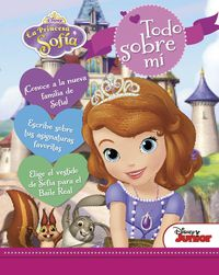 Princesa Sofia - Todo Sobre Mi - Libro De Actividades - Aa. Vv.