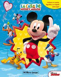 Casa De Mickey Mouse, La - Mi Libro-Juego - Aa. Vv.