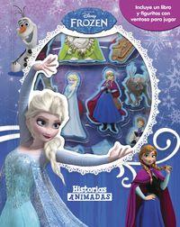 Frozen - Historias Animadas - Libro Con 10 Figuritas - Aa. Vv.