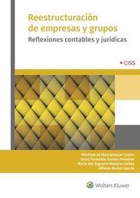 REESTRUCTURACION DE EMPRESAS Y GRUPOS - REFLEXIONES CONTABLES Y JURIDICAS