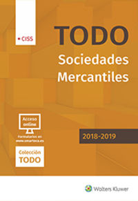 Todo Sociedades Mercantiles 2018-2019 - Aa. Vv.