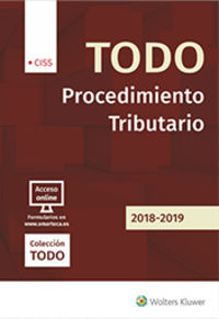 Todo Procedimiento Tributario 2018-2019 - Jose M. Pelaez Martos (coord)