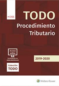 Todo Procedimiento Tributario 2019-2020 - Jose M. Pelaez Martos (coord)