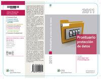 Prontuario Sobre La Proteccion De Datos 2011 - Aa. Vv.
