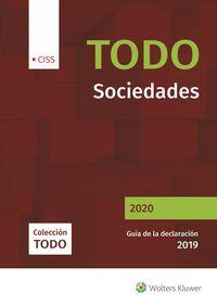 TODO SOCIEDADES 2020 - GUIA DE LA DECLARACION 2019