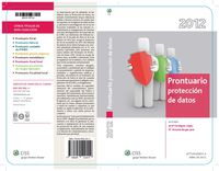 Prontuario Proteccion De Datos 2012 - Jordi  Verdaguer Lopez  /  Mª Antonia  Bergas Jane