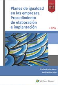 PLANES DE IGUALDAD EN LAS EMPRESAS. PROCEDIMIENTO DE ELABORACION E IMPLANTACION