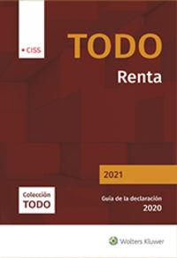 TODO RENTA 2021 - GUIA DE LA DECLARACION 2020