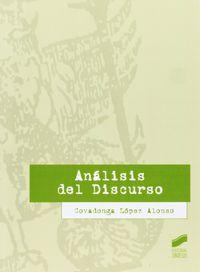 Analisis Del Discurso - Covadonga Lopez Alonso