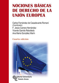 (4 ED) NOCIONES BASICAS DE DERECHO DE LA UNION EUROPEA