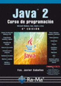 Java 2 - Curso De Programacion (4º Ed. ) - Francisco Ceballos Sierra