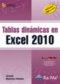 TABLAS DINAMICAS EN EXCEL 2010